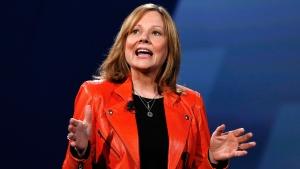 General Motors CEO Mary Barra in Detroit, on June 24, 2015. (Paul Sancya / AP)