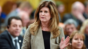 Interim Conservative leader Rona Ambrose asks a question during Question Period in the House of Commons in Ottawa on Tuesday, June 7, 2016. (Justin Tang / THE CANADIAN PRESS)