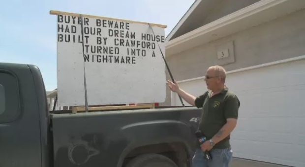 Couple sues Regina builder after dream home turns into