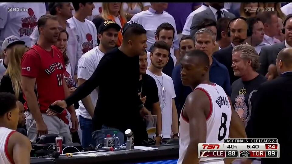 Sukh Deo gained recent infamy when he was kicked out of his courtside seats during the Raptors playoff run. (TSN)