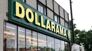 A Dollarama store is pictured on June 11, 2013 in Montreal. (Paul Chiasson/The Canadian Press)