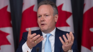 Bank of Canada Governor Stephen Poloz speaks about the Financial System Review during a news conference in Ottawa, Thursday, June 9, 2016. (Adrian Wyld / THE CANADIAN PRESS)
