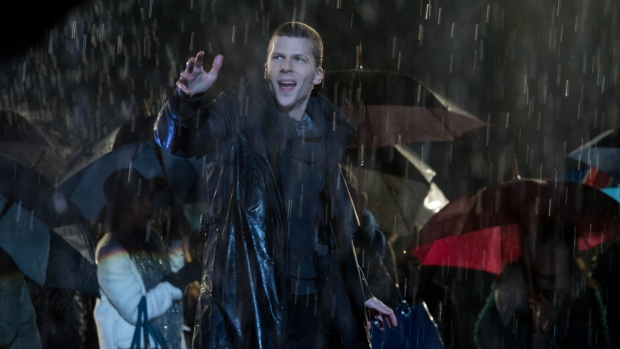 Jesse Eisenberg in 'Now You See Me 2'. (Jay Maidment / Summit)
