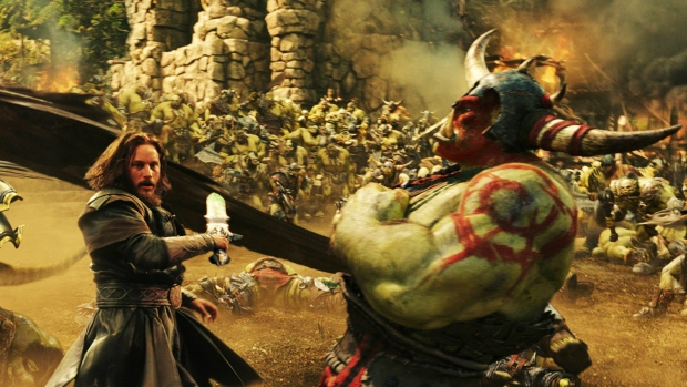 Travis Fimmel in 'Warcraft.' (Universal Pictures)