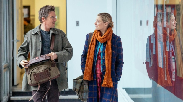 'Maggie's Plan'' the new film from director Rebecca Miller, stars Greta Gerwig and Ethan Hawke.