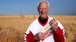Former Detroit Red Wings hockey great Gordie Howe is seen in an undated image. Hockey legend Gordie Howe has died after a lengthy illness on Friday, June 10, 2016. He was 88 years old.  (Crown Media United States, Andrew Eccles)