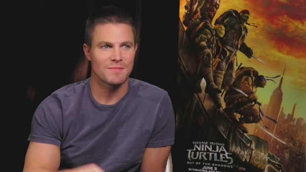 CTVNews.ca: One-on-one with Stephen Amell