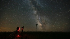 Milky Way, which is blocked by light polllution