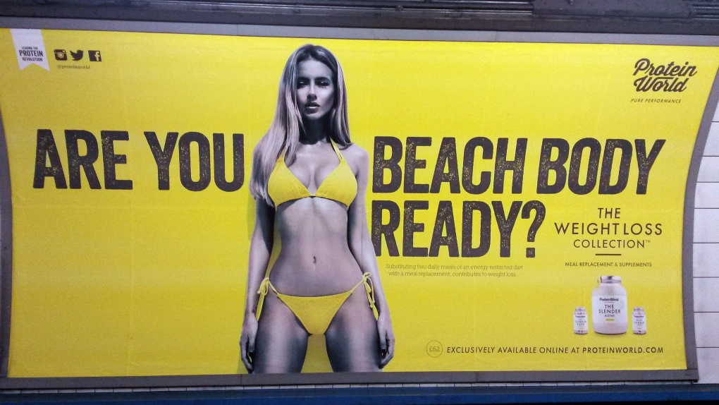 Body shaming ads banned