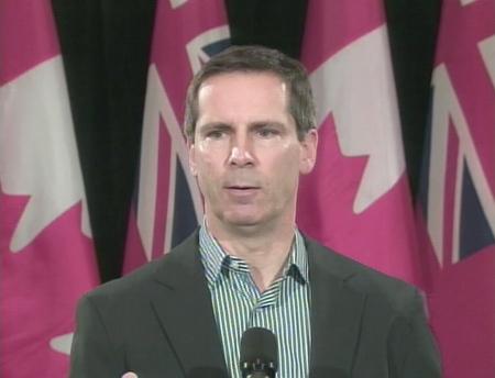 Ontario Premier Dalton McGuinty announces he will send in a mediator for the York University strike, Wednesday, Jan. 21, 2009.