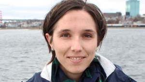 Outgoing interim Leader Brynn Nheiley says the Green Party of Nova Scotia says it's shutting down because it doesn't have enough active members. (Twitter/@Urban_Leaves)