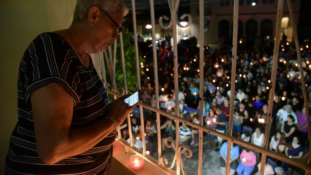 Mourning the Pulse shooting victims in Puerto Rico