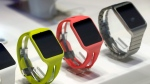In this Jan. 6, 2015, file photo, the Smartwatch 3 is on display at the Sony booth during the International CES in Las Vegas. (AP Photo/John Locher, File)