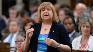 Minister of Employment, Workforce Development and Labour MaryAnn Mihychuk answers a question during Question Period in the House of Commons on Parliament Hill in Ottawa on Tuesday, June 14, 2016. (Adrian Wyld / THE CANADIAN PRESS)