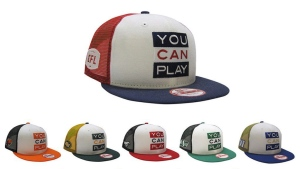 "CFL ""You Can Play,"" ballcaps are shown in a handout photo. The CFL is teaming up with You Can Play on a clothing line supporting LGBTQ inclusion in sports. (THE CANADIAN PRESS/HO-CFL)"