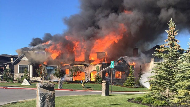 Bearspaw home destroyed by Friday evening fire | CTV ...
