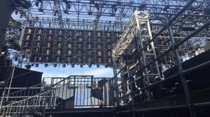 Photo of a concert stage (Codi Wilson)