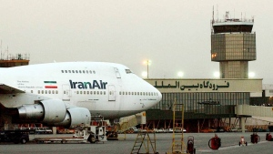 In this June 2003 file photo, a Boeing 747 of Iran's national airline is seen at Mehrabad International Airport in Tehran. (Hasan Sarbakhshian/AP)