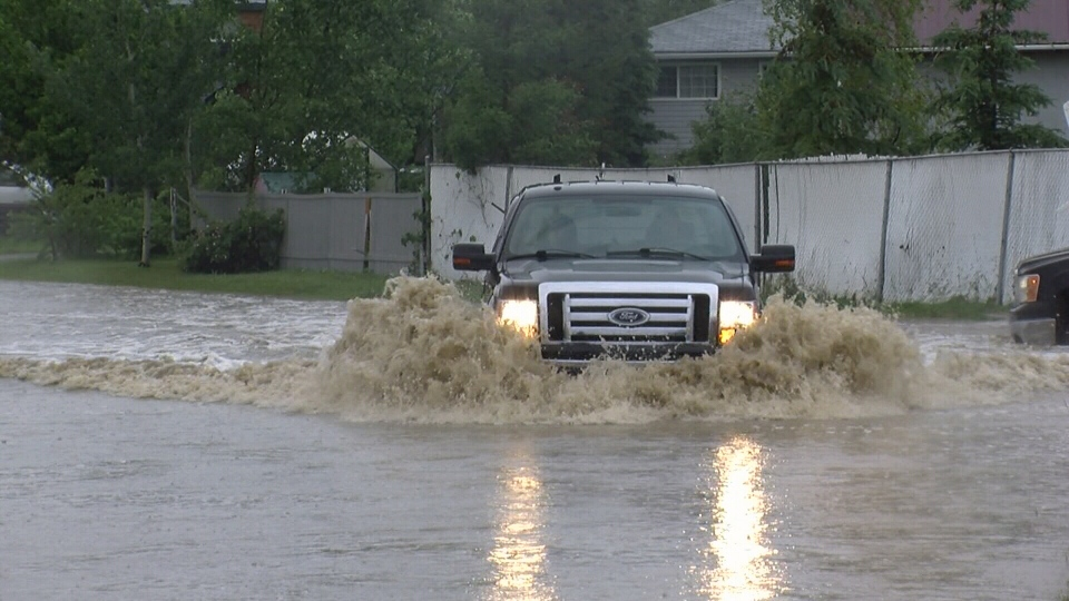 The Peace region last rebuilt from significant flooding in 2011 but the damage was much worse in this latest case. (CTV)
