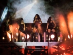 Fifth Harmony performs during the Much Music Video Awards in Toronto on Sunday, June 19, 2016. (THE CANADIAN PRESS/Chris Young)