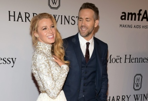 In this Feb. 10, 2016, file photo, Blake Lively, left, and Ryan Reynolds attend amfAR's New York Gala honouring Harvey Weinstein at Cipriani Wall Street in New York. (Photo by Charles Sykes/Invision/AP, File)