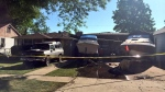 Windsor fire officials say a person has died after a fire at 1022 Ford Blvd. in Windsor, Ont., on Tuesday, June 21, 2016. (Sacha Long / CTV Windsor)