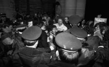 Bathhouse raid protests