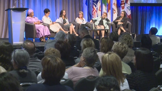 About 600 nurses are in Saint John for the Canadian Nurses Association Biennial Conference.