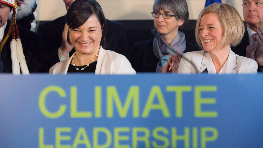 Notley and Phillips unveil Alberta climate plan