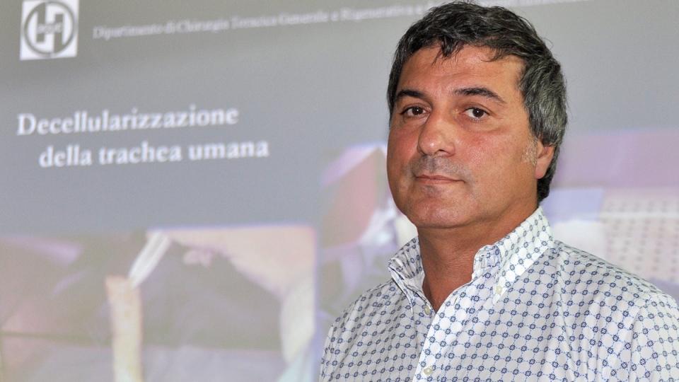 Dr. Paolo Macchiarini in Florence, Italy, on July 30, 2010. (Lorenzo Galassi / AP)