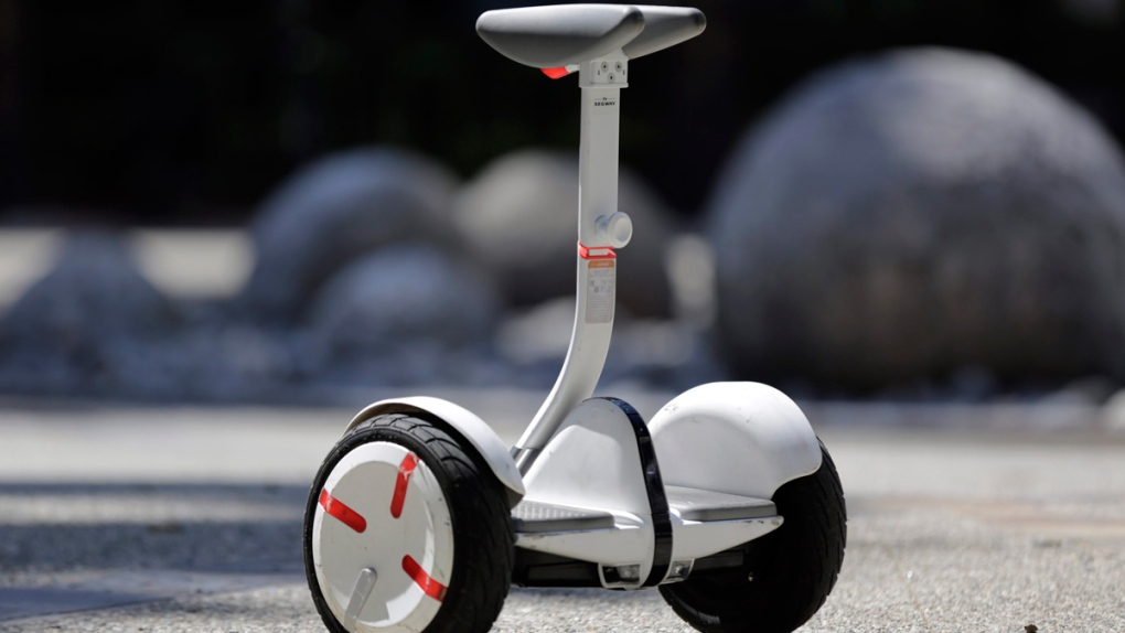 Segway's new self-balancing scooter, the MiniPro