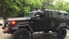 The Winnipeg Police Service now has use of a GURKHA, a Tactical Armoured Rescue Vehicle.