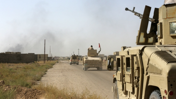 Iraqi forces battle militants in Fallujah