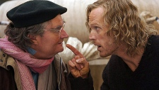Jim Broadbent, left, and Paul Bettany in New Line Cinema's 'Inkheart'