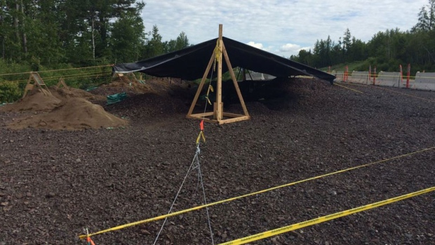 Archaeologists have discovered ancient artifacts buried underneath a newly-constructed bypass near Marysville, N.B.