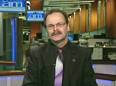 Bill McDonald of the Winnipeg Humane Society speaks on Canada AM from CTV's studios in Winnipeg, Friday, Jan. 23, 2009.