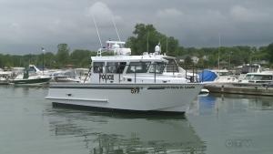 New OPP marine vessel