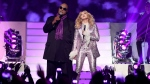 Stevie Wonder, left, and Madonna perform a tribute to Prince at the Billboard Music Awards at the T-Mobile Arena on Sunday, May 22, 2016, in Las Vegas. (Photo by Chris Pizzello / Invision / AP)