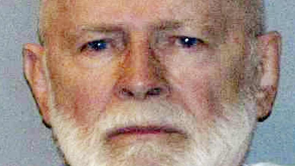 """A booking photo provided by the U.S. Marshals Service shows James """"Whitey"""" Bulger. (U.S. Marshals Service)"""