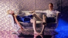 Nicolas Winding Refn and Elle Fanning are seen  in the film 'The Neon Demon.'