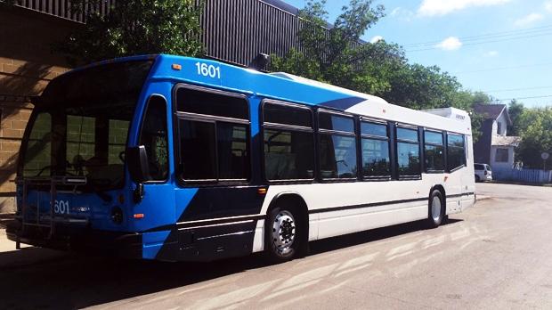 New Saskatoon Transit bus
