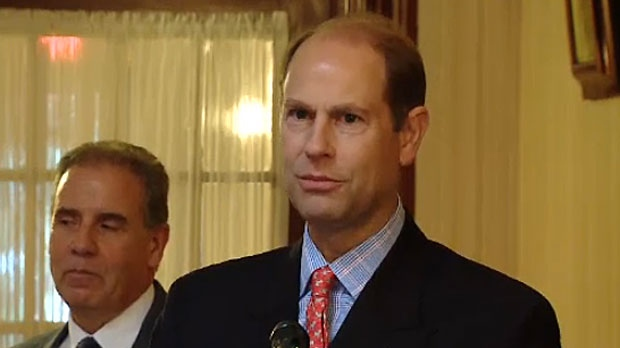 Prince Edward, the Duke of Wessex, is in Calgary to present the Duke of Edinburgh Award to several Alberta youth.