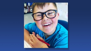 Jennifer Engele says birthday invitations were delivered to the entire 22-student class, except for her son Sawyer. (Facebook)