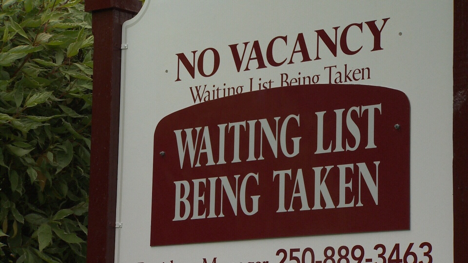 Vacancy rates up in Victoria and Nanaimo, CHMC rent report