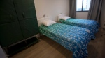 Beds stand ready in the bedroom of an apartment of the the Olympic Village in Rio de Janeiro, Brazil, Thursday, June 23, 2016. (AP Photo / Silvia Izquierdo)