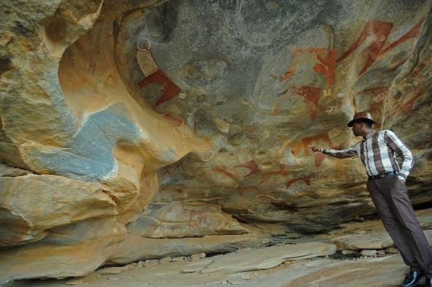 Somalia cave art