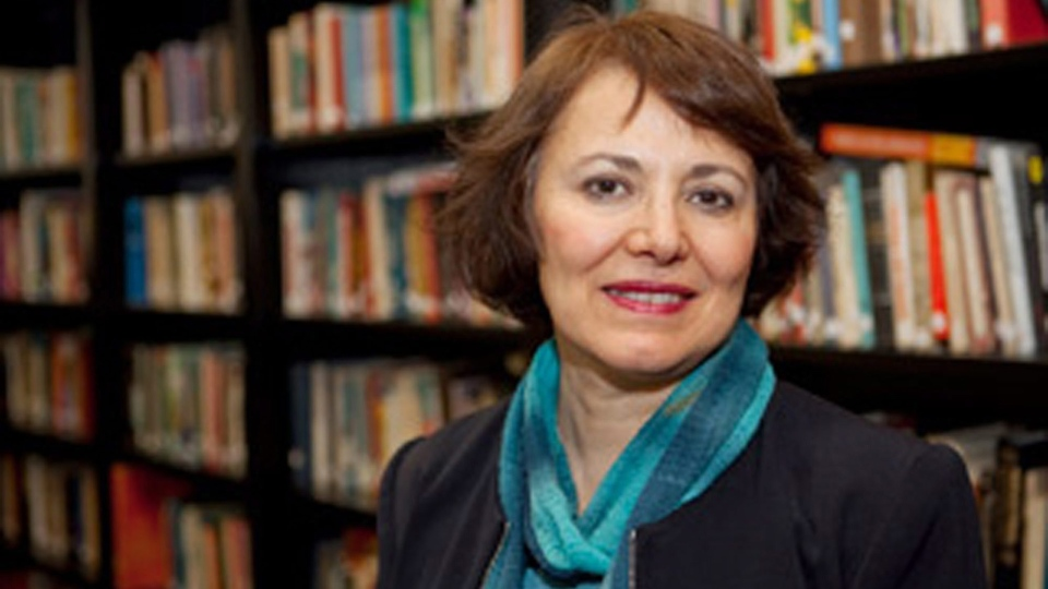 This undated photo made available by Amanda Ghahremani, shows retired Canadian-Iranian professor Homa Hoodfar. (Amanda Ghahremani via AP)