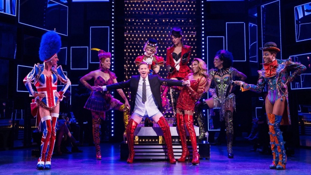 The Canadian cast of Kinky Boots is shown in this undated handout image. (THE CANADIAN PRESS / HO - Mirvish Productions, Cylla von Tiedemann)