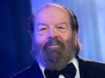 In this file photo taken on Nov. 14, 2009 in Duesseldorf, Germany, Italian actor Giuseppe Pedersoli, better known as Bud Spencer, is seen at an UNESCO charity event. (AP Photo/Hermann J. Knippertz)
