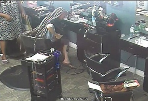 Hairdo-and-dash: Police seek woman accused of fleeing after 8 hours at salon